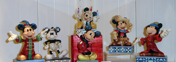 Mickey House Aalst - Disney figuren