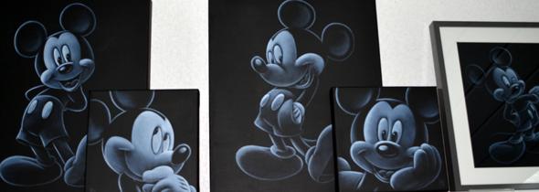 Mickey House Aalst - Mickey schilderij