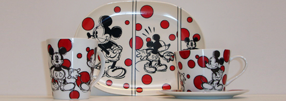 Mickey Mouse servies