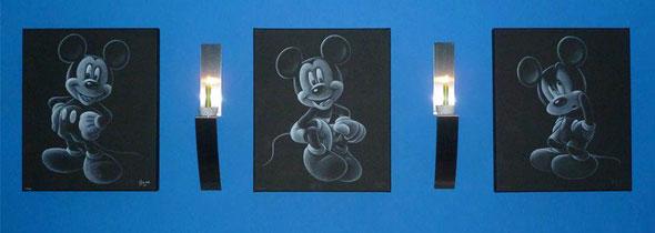 Tekeningen Mickey Mouse